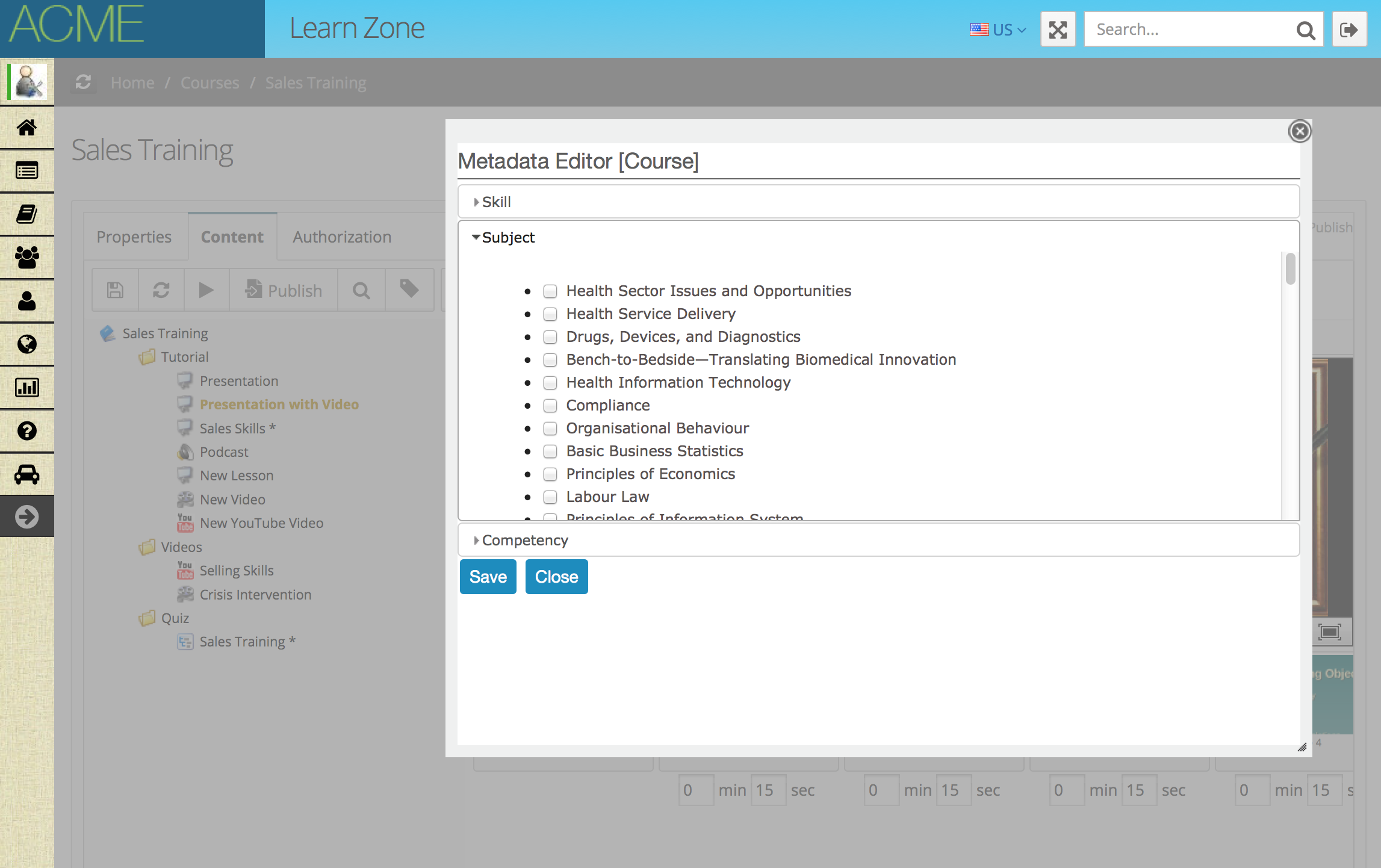 Metadata coursework
